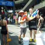 Pre-Songkran festival with Lars.