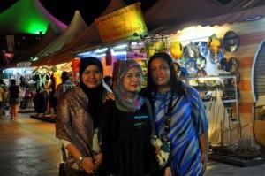 Muslim women in Malaysia.