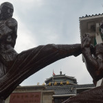 Kung Fu statue at the Shaolin Temple.