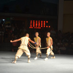 Kung Fu performance at the Shaolin Temple.