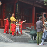 Outside of the Shaolin Temple near Dangfeng.