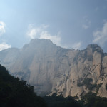 "Mt Huashan, the ""Flower Mountain"""