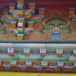 Artwork at Songzanlin Monastery.