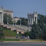 Memorial park in Volgograd.