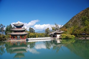 Black Dragon Pool in Lijiang.