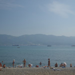 Beaches of Novorossiysk.