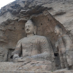 Yungang Grottoes of China.
