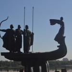 Bayfront statue in Odessa.
