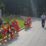 Mangyongdae-guyok in North Korea, the birthplace of Kim Il-Sung