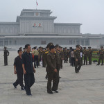 Photo from inside Pyongyang, North Korea.