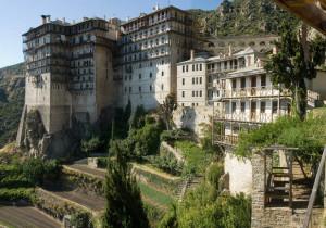 Living quarters at Mount Athos