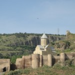 Narikala Fortress from the 8th century, built by Arab emirs