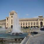 The Republic Square in Yerevan
