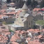 View of Mtskhete from Jvari monastery