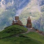 Jvari monastery of the Georgian Orthodox church in Eastern Georgia.