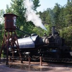 Train replica in Keystone.