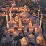 Exterior of the Hagia Sophia