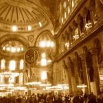 Ground floor of Hagia Sofia