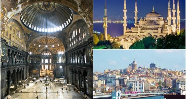 Sights of Istanbul, Turkey.