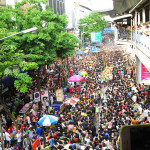 Madness ensues in Bangkok, Thailand during the Songkran festival.