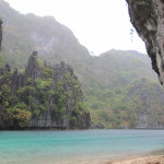 Start of the big lagoon near El Nido.