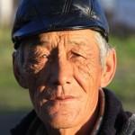 Old man in Sary-Tash