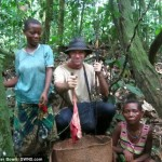 Hunting Antelope in the Congo.