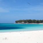 Midway island beach atoll