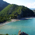 Olimpos, a beautiful beach in Greece.