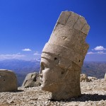 Stone sculptures of Nemrut Mountain, Turkey.