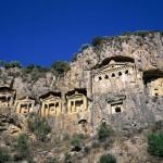 Amasya Kral Mezarlari, Turkey.