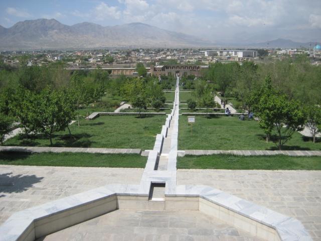 Babur Gardens, Afghanistan.