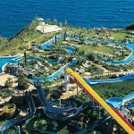 Water park in Antalya.