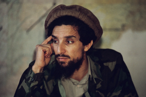 Ahmed Shah Massoud, Kabul, Afghanistan, 1992