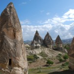 Cappadocia region of Turkey.