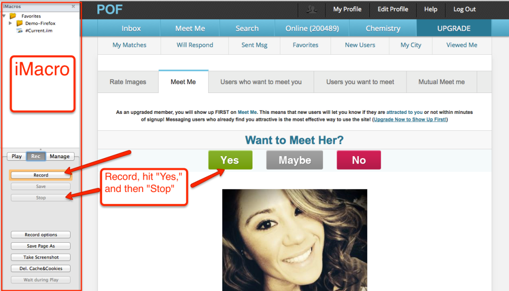 How to Hack POF dating