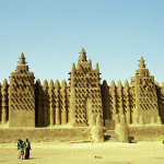 Timbuktu, on the banks of the Niger River
