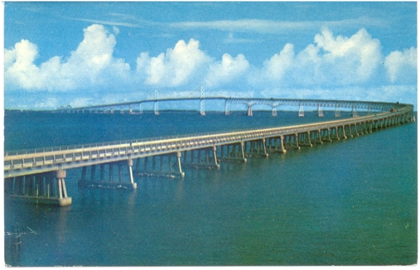 King Fahd Causeway, a bridge linking Saudi Arabia to Bahrain.