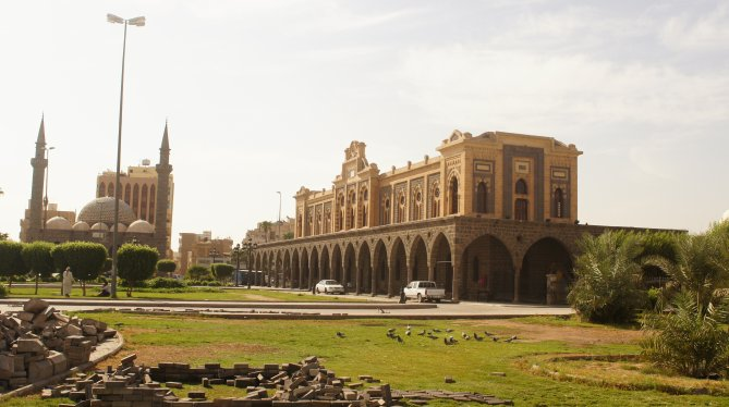 Hejaz railway station in Madinah
