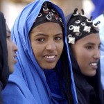 Tuareg women.