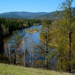 The Little Yenisei River.