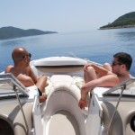 Boat trip at Bodrum.