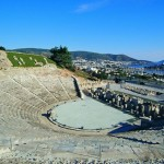 The Antique Theater of Bodrum.