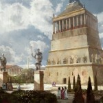 What the Mausoleum of Halicarnassus, an ancient wonder, used to look like.
