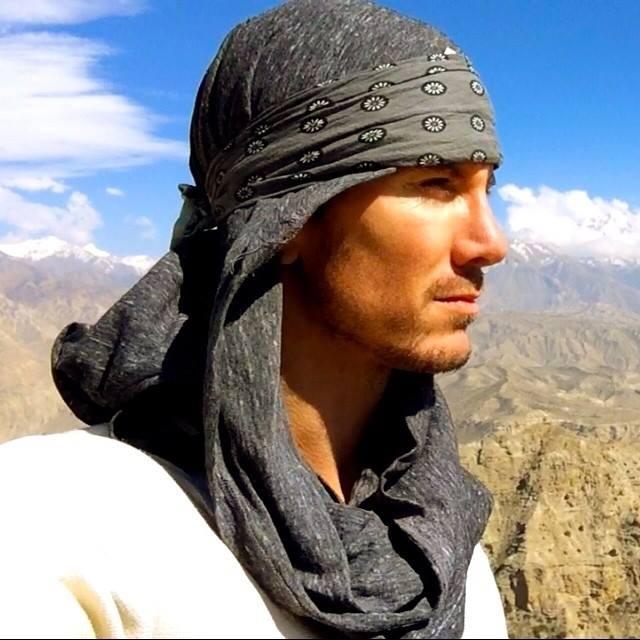 Justin Alexander, full-time nomad.