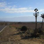 Highway through Mexico.