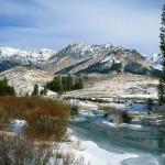 Idaho mountain landscape