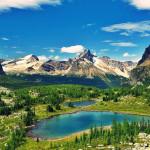 Scenery in British Columbia, Canada.