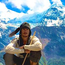 Justin Alexander in Tibet