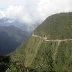 "The ""Road of Death,"" Yungas Highway, Bolivia."